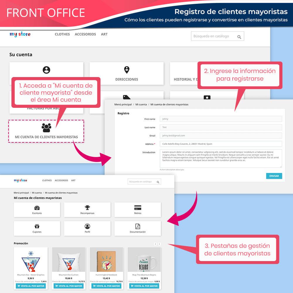 module - Ventas Privadas y Ventas Flash - Wholesale B2B: Plataforma experto de venta al por mayor - 8