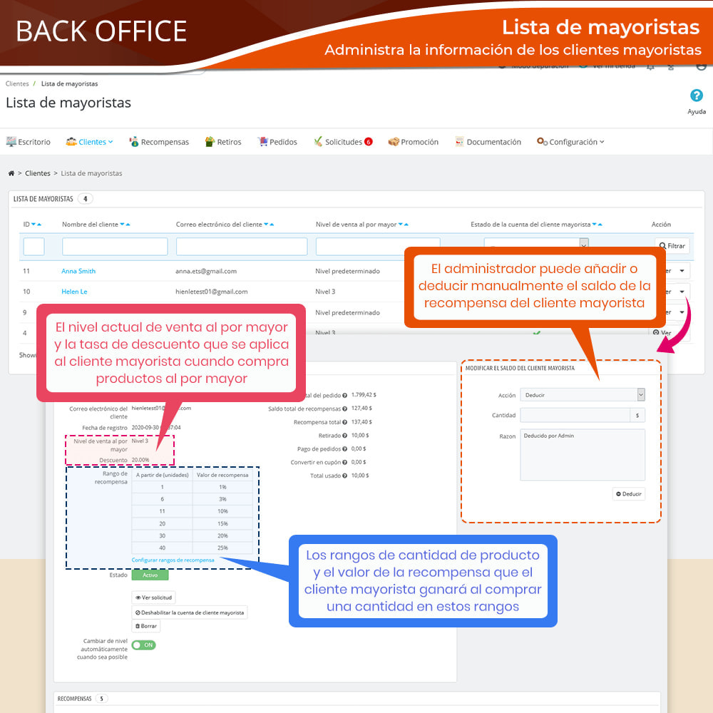 module - Ventas Privadas y Ventas Flash - Wholesale B2B: Plataforma experto de venta al por mayor - 14