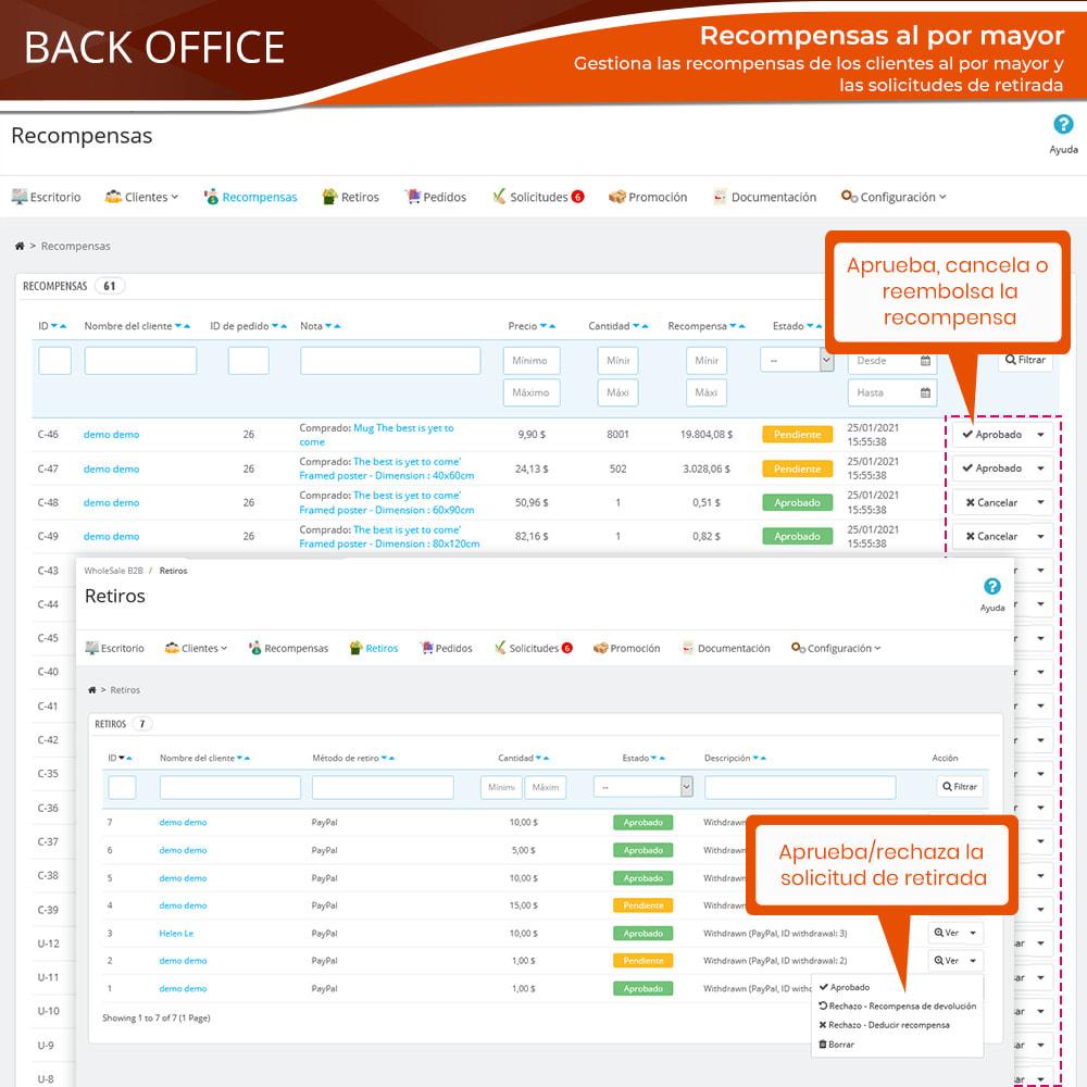 module - Ventas Privadas y Ventas Flash - Wholesale B2B: Plataforma experto de venta al por mayor - 16