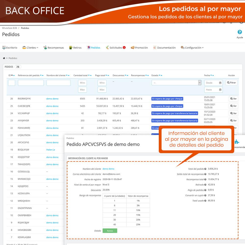 module - Ventas Privadas y Ventas Flash - Wholesale B2B: Plataforma experto de venta al por mayor - 17