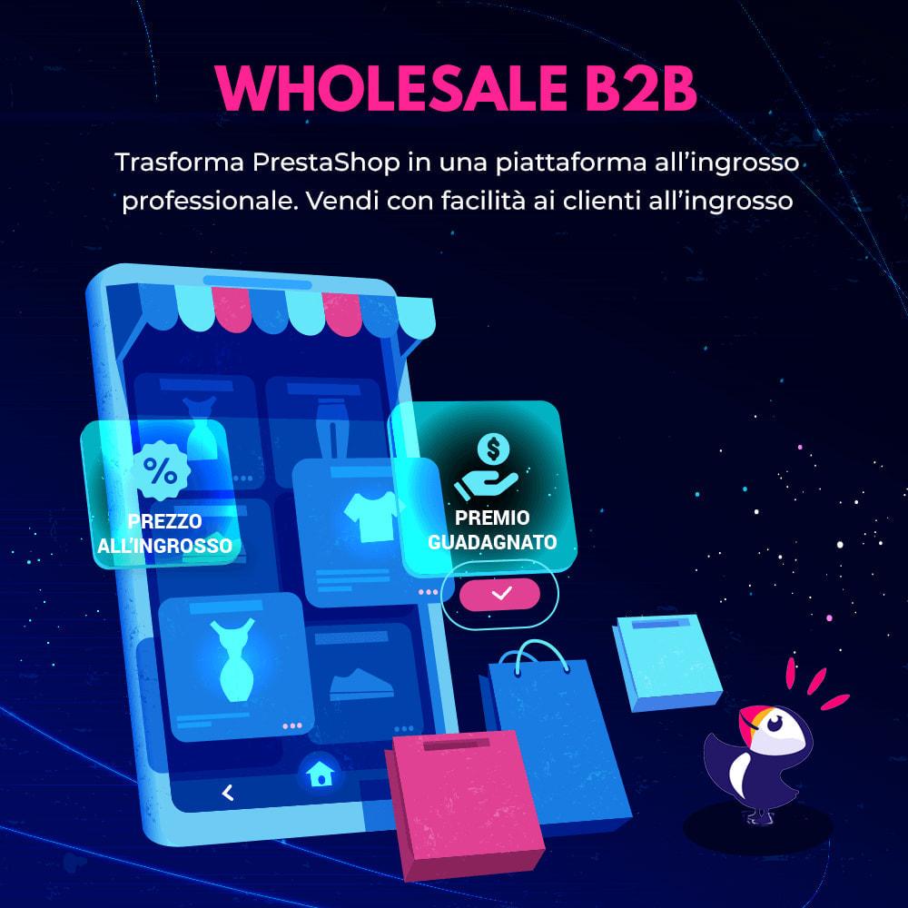 module - Flash & Private Sales - Wholesale B2B - Piattaforma all'ingrosso professionale - 1