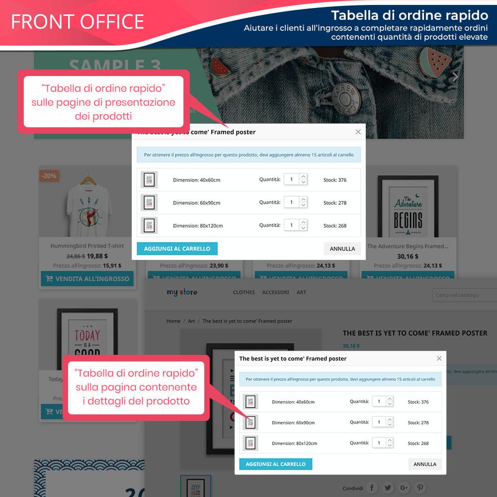 module - Flash & Private Sales - Wholesale B2B - Piattaforma all'ingrosso professionale - 7
