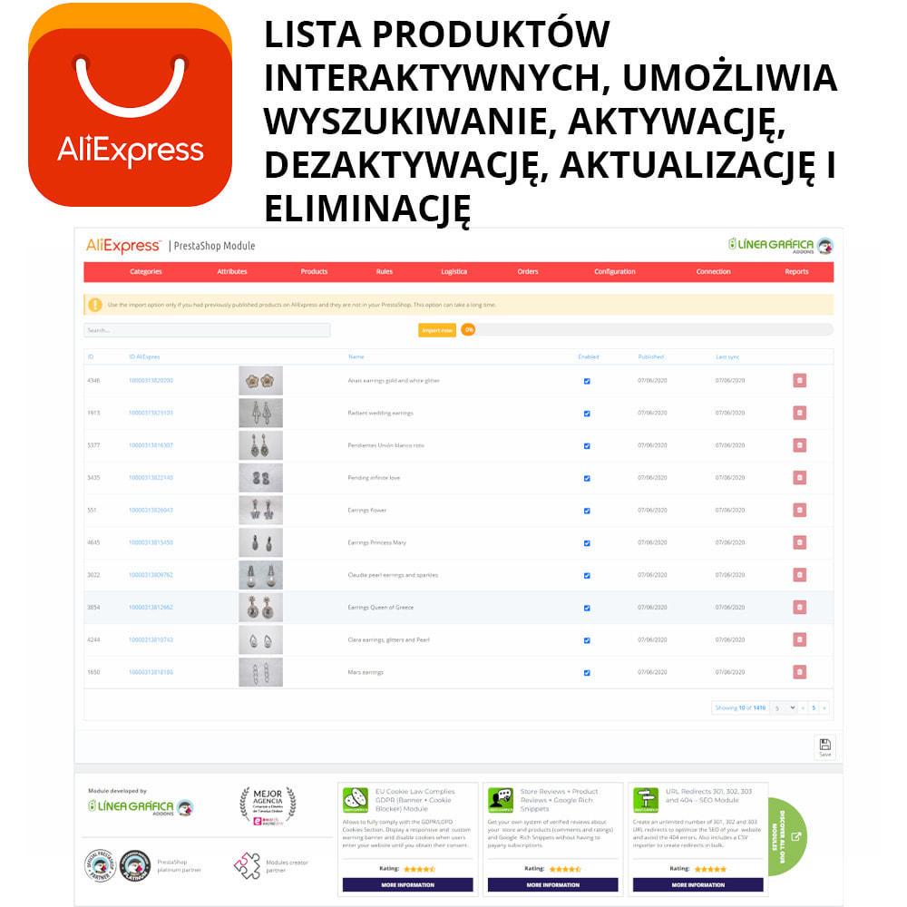 module - Platforma handlowa (marketplace) - AliExpress Oficjalny - 2