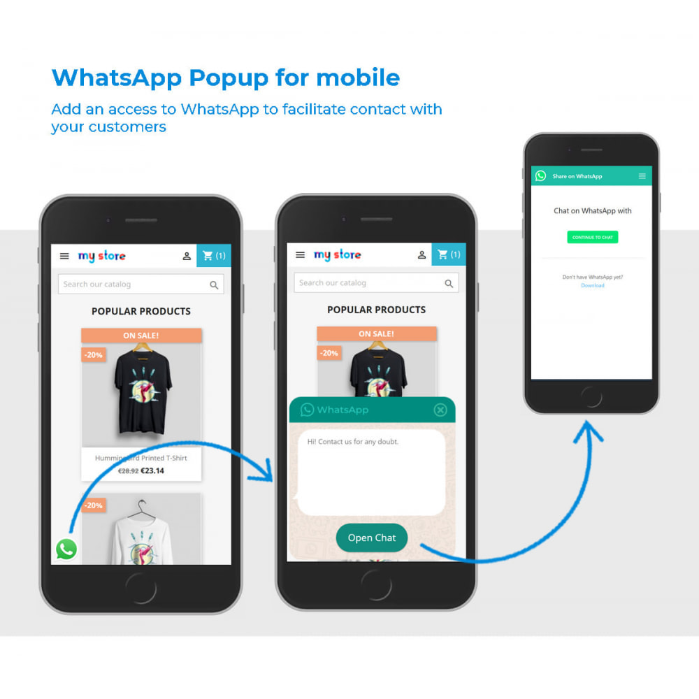 module - Mobile - WhatsApp Popup for mobile - 2