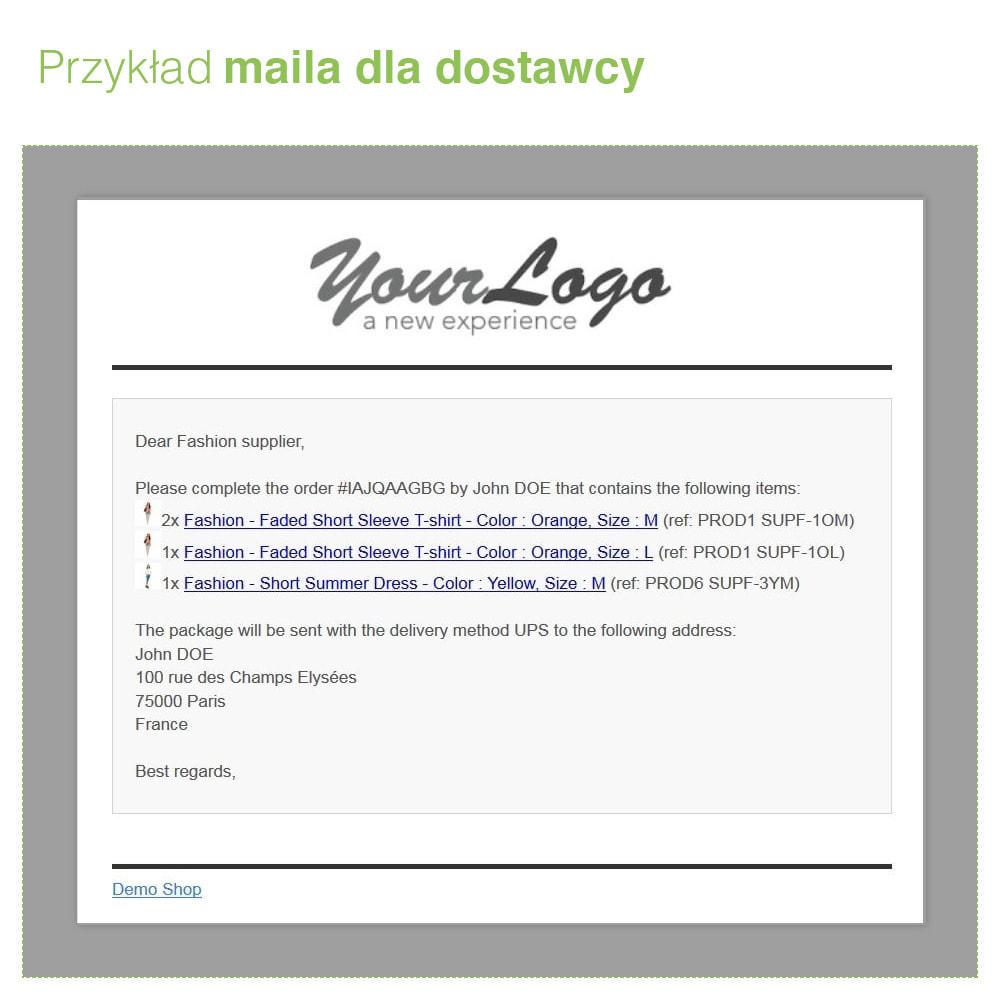 module - Dropshipping - Dropshipping: Automatyczny mail do Dostawcy i Operatora - 4