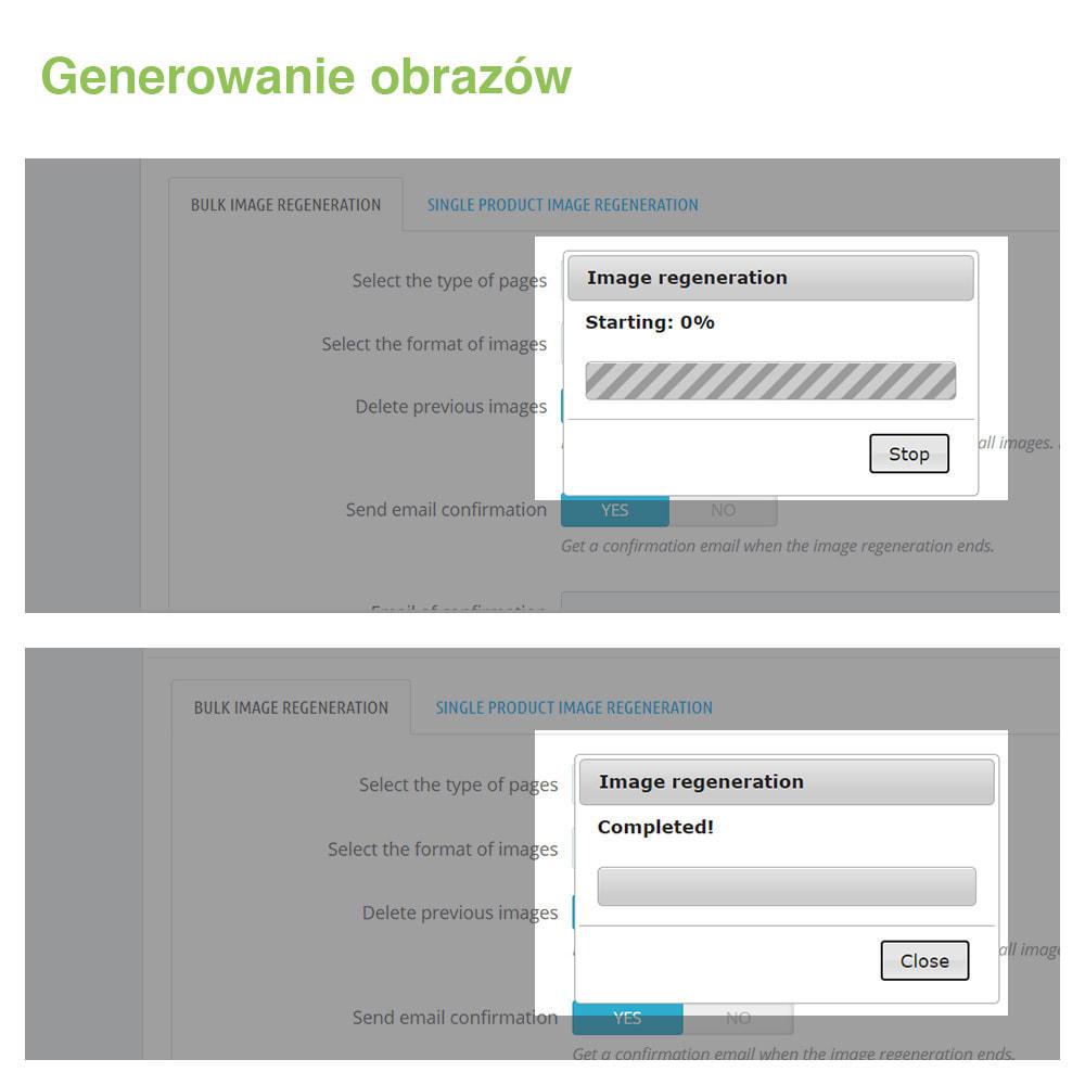 module - Szybkie & Masowe edytowanie - Regenerate Thumnbails / Images: Generator Zdjęć - 4