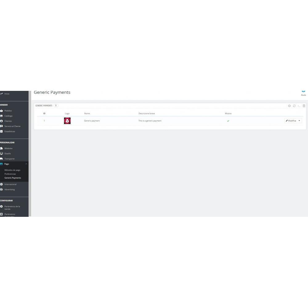 module - Altri Metodi di Pagamento - Metodo di pagamento generico - 3