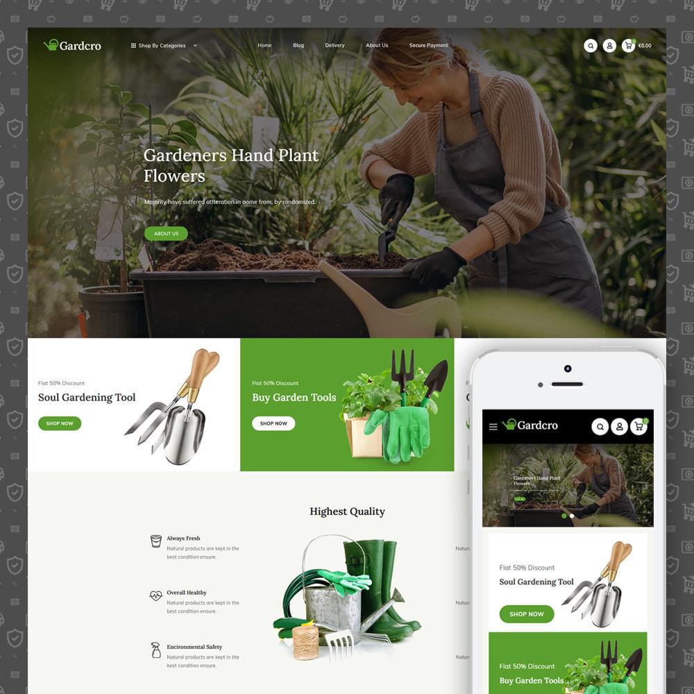theme - Home & Garden - Gardcro - Garden Tools Store - 1