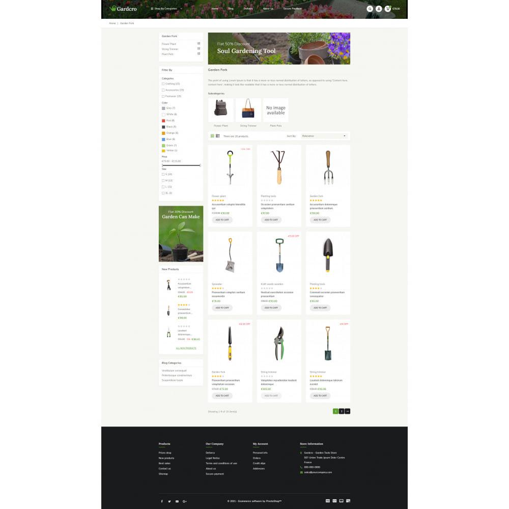 theme - Home & Garden - Gardcro - Garden Tools Store - 3
