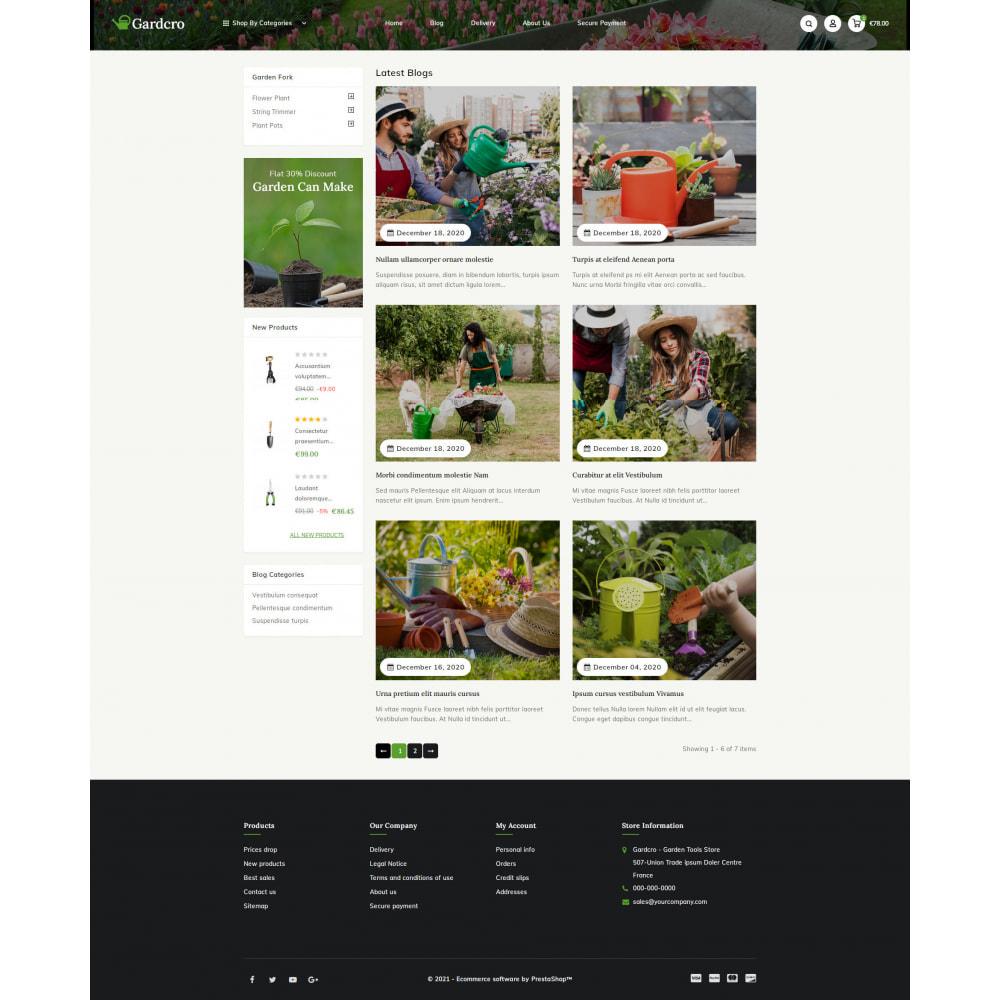 theme - Home & Garden - Gardcro - Garden Tools Store - 9