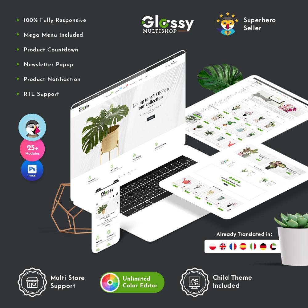 theme - Dom & Ogród - Glossy Nursery Plant & Tools - 1