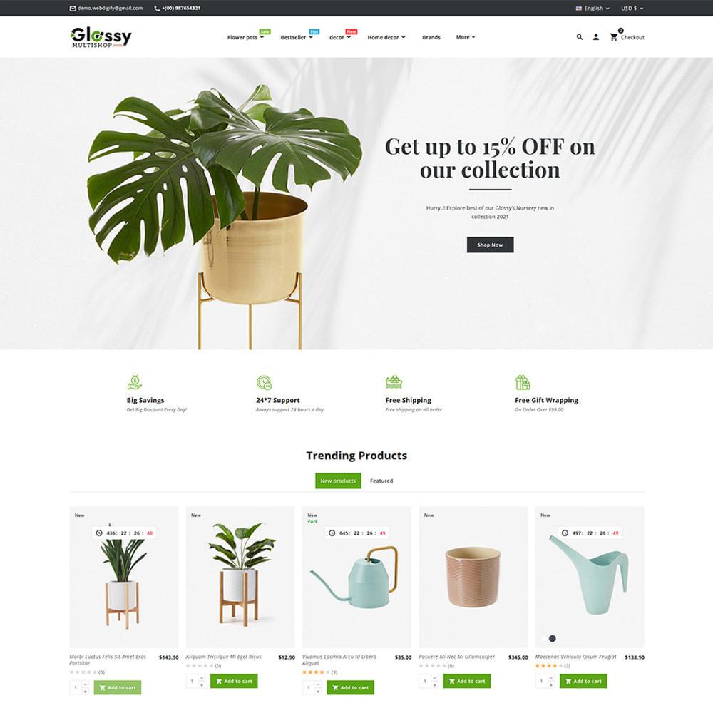 theme - Dom & Ogród - Glossy Nursery Plant & Tools - 3