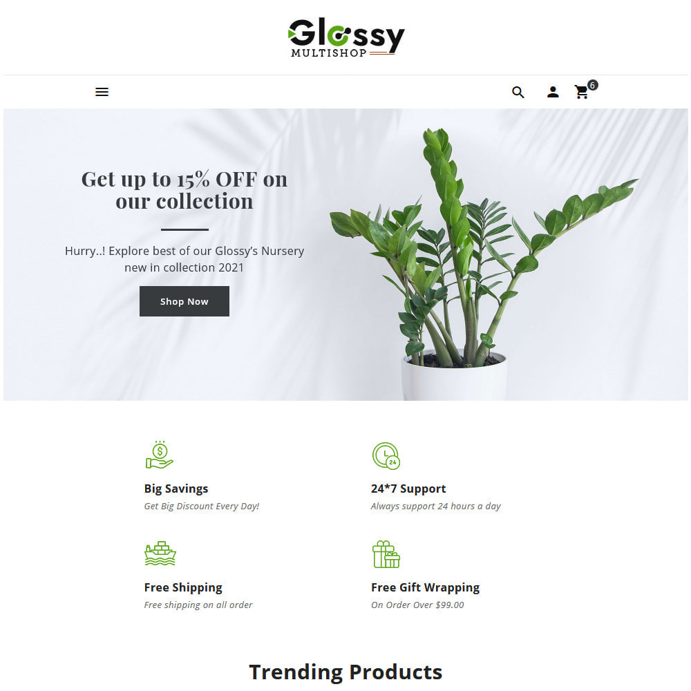 theme - Dom & Ogród - Glossy Nursery Plant & Tools - 4