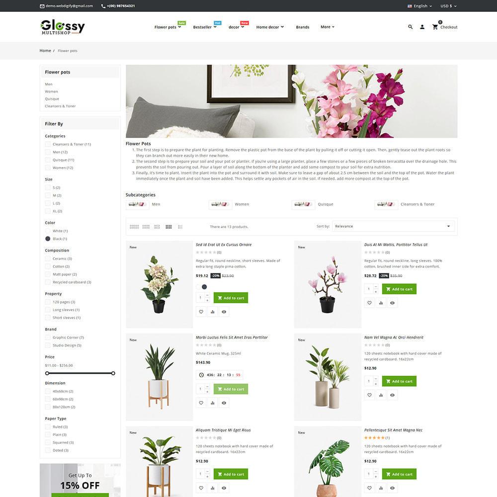 theme - Dom & Ogród - Glossy Nursery Plant & Tools - 9