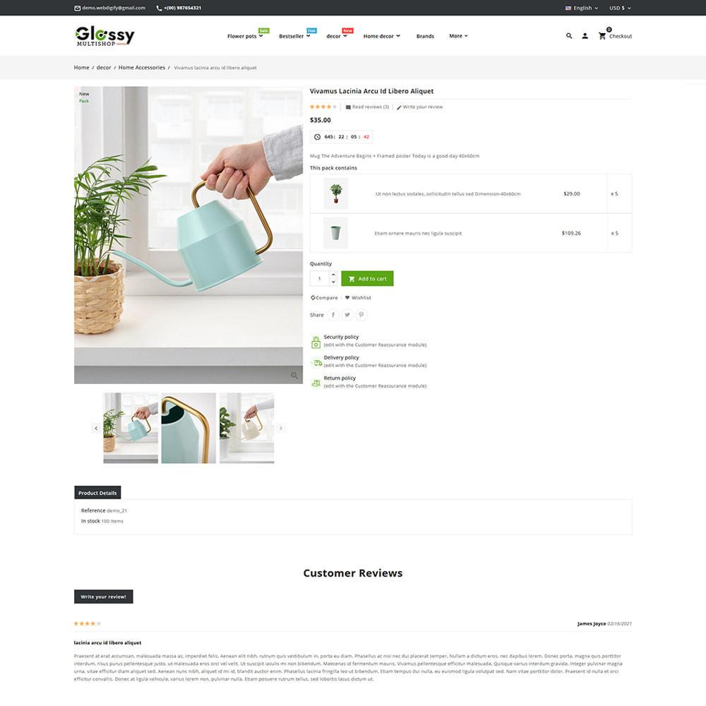 theme - Dom & Ogród - Glossy Nursery Plant & Tools - 11