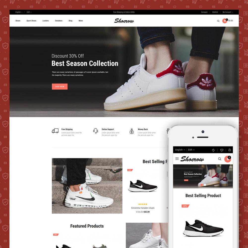 theme - Fashion & Shoes - Shoerow - Shoes Store - 1