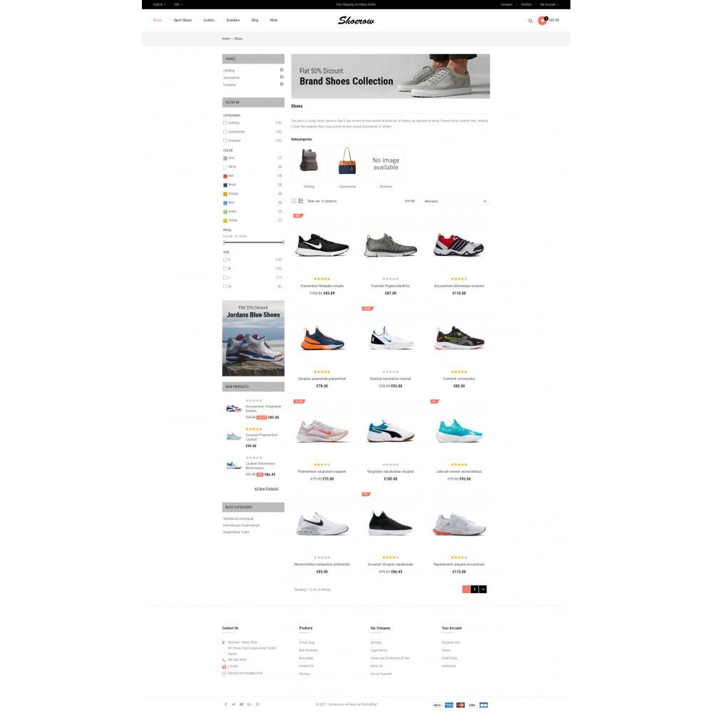 theme - Fashion & Shoes - Shoerow - Shoes Store - 3