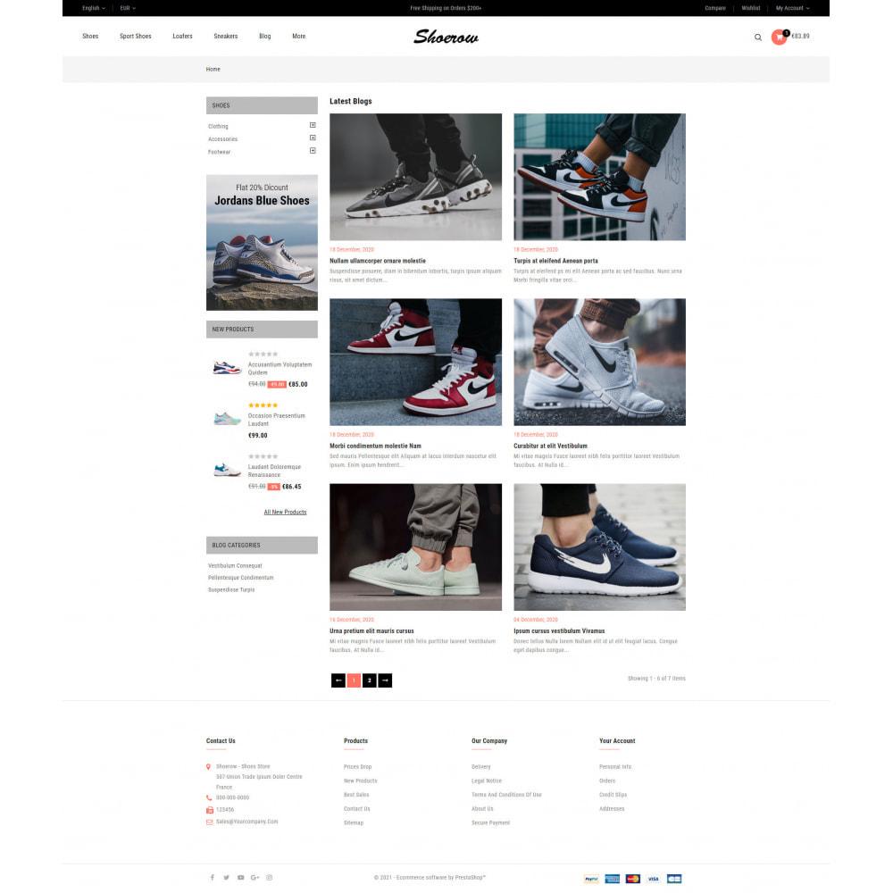 theme - Fashion & Shoes - Shoerow - Shoes Store - 9