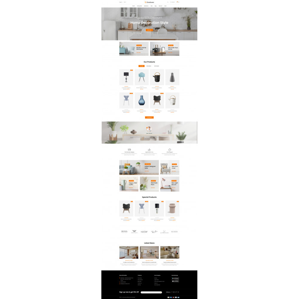 theme - Home & Garden - Demhome - Home Decoration Store - 2