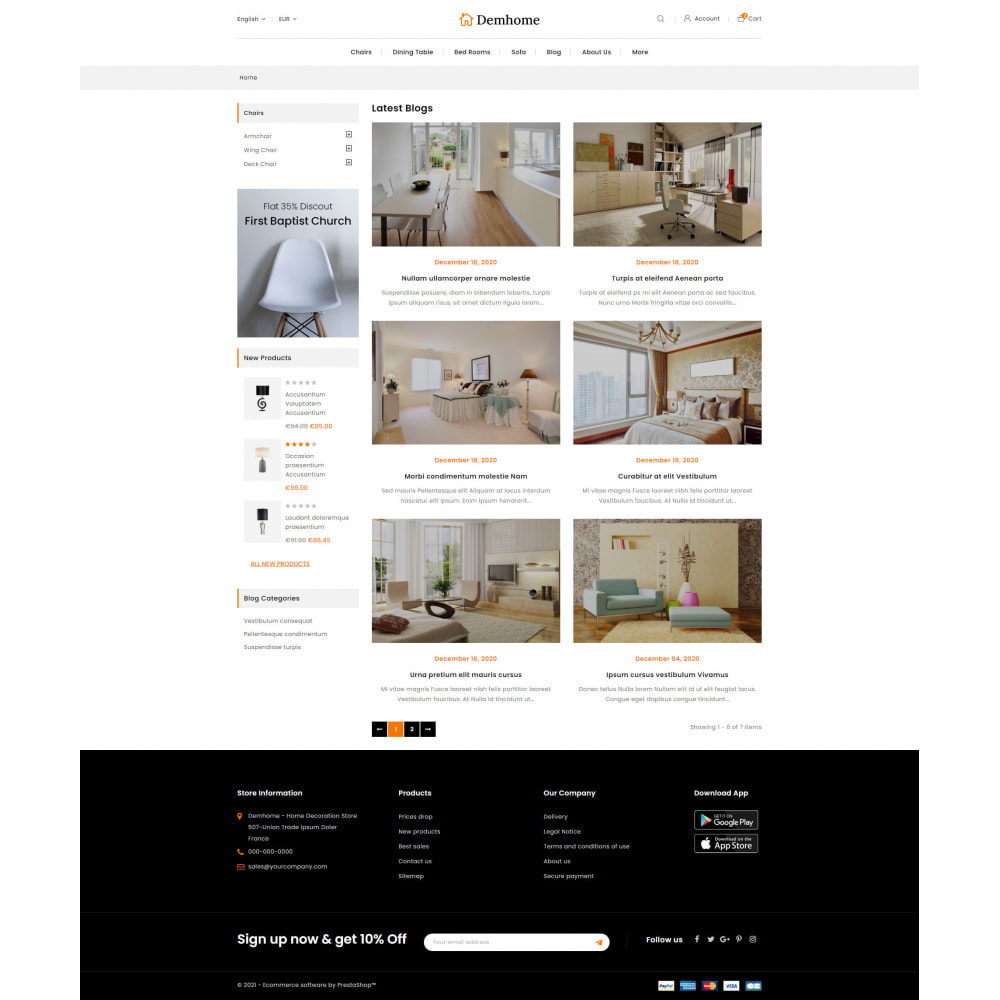 theme - Home & Garden - Demhome - Home Decoration Store - 9