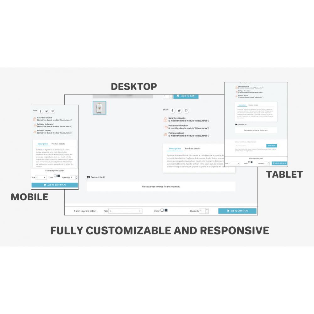 module - Szybki proces składania zamówienia - Fixed Add to Cart - 1