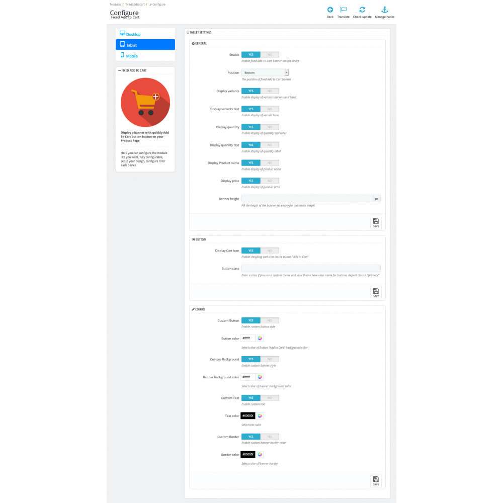 module - Szybki proces składania zamówienia - Fixed Add to Cart - 3