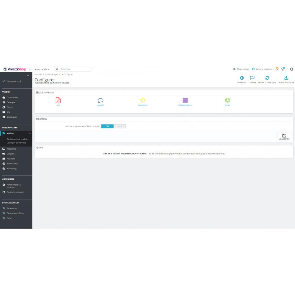 module - Klantenservice - Secure File Manager - 2