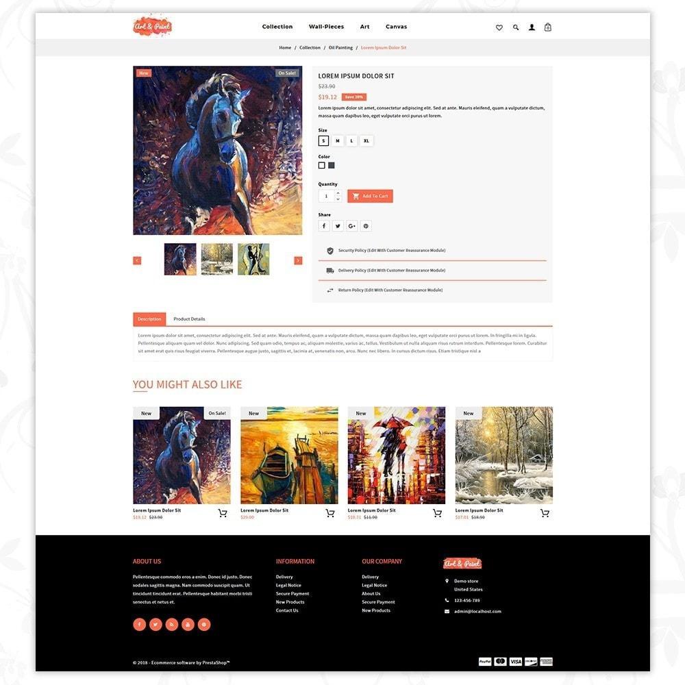 theme - Arte e Cultura - Art and Paint - 5