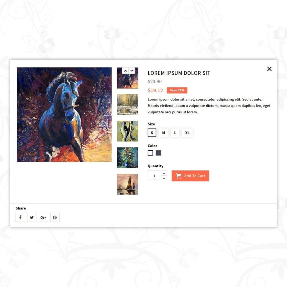 theme - Arte e Cultura - Art and Paint - 6