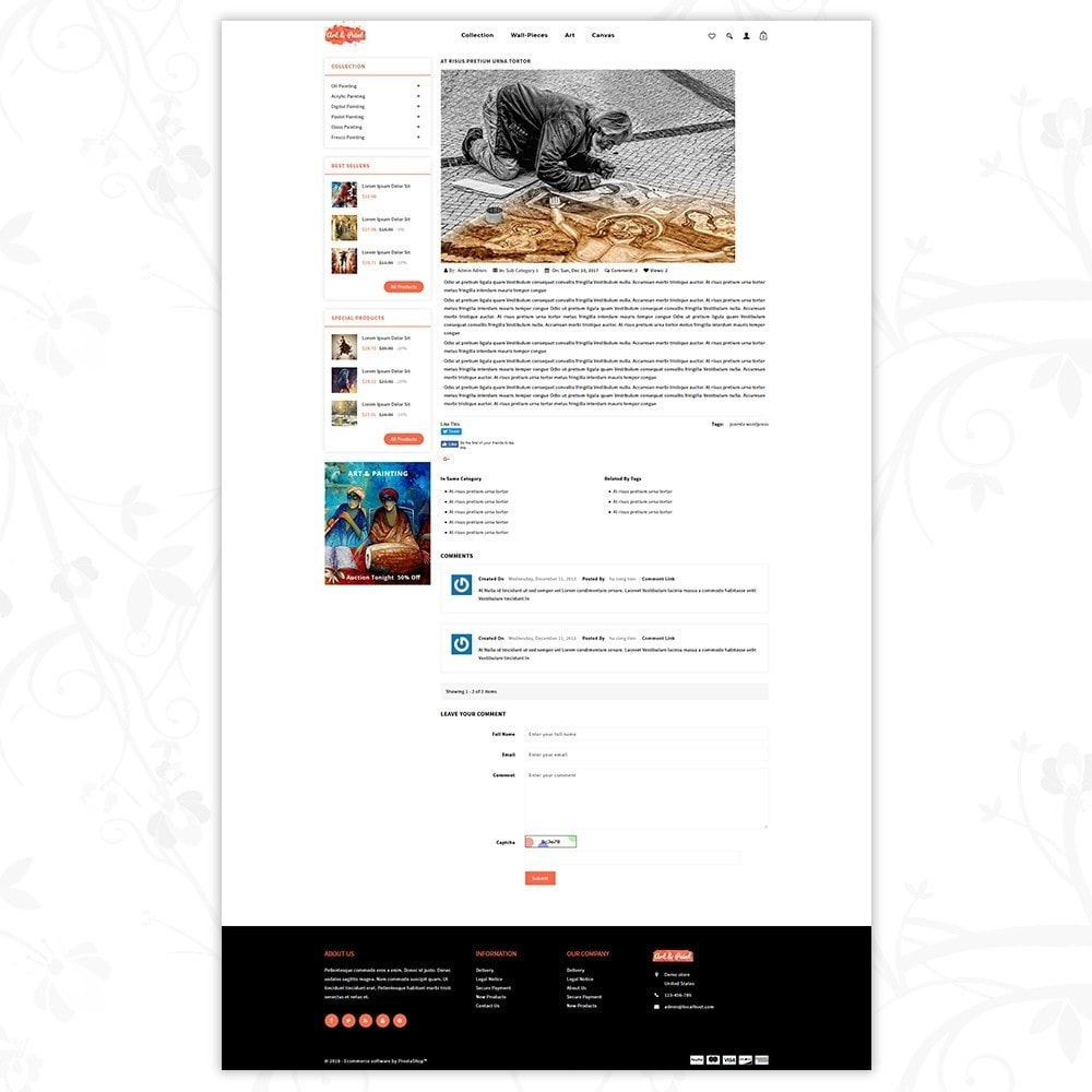 theme - Arte e Cultura - Art and Paint - 7