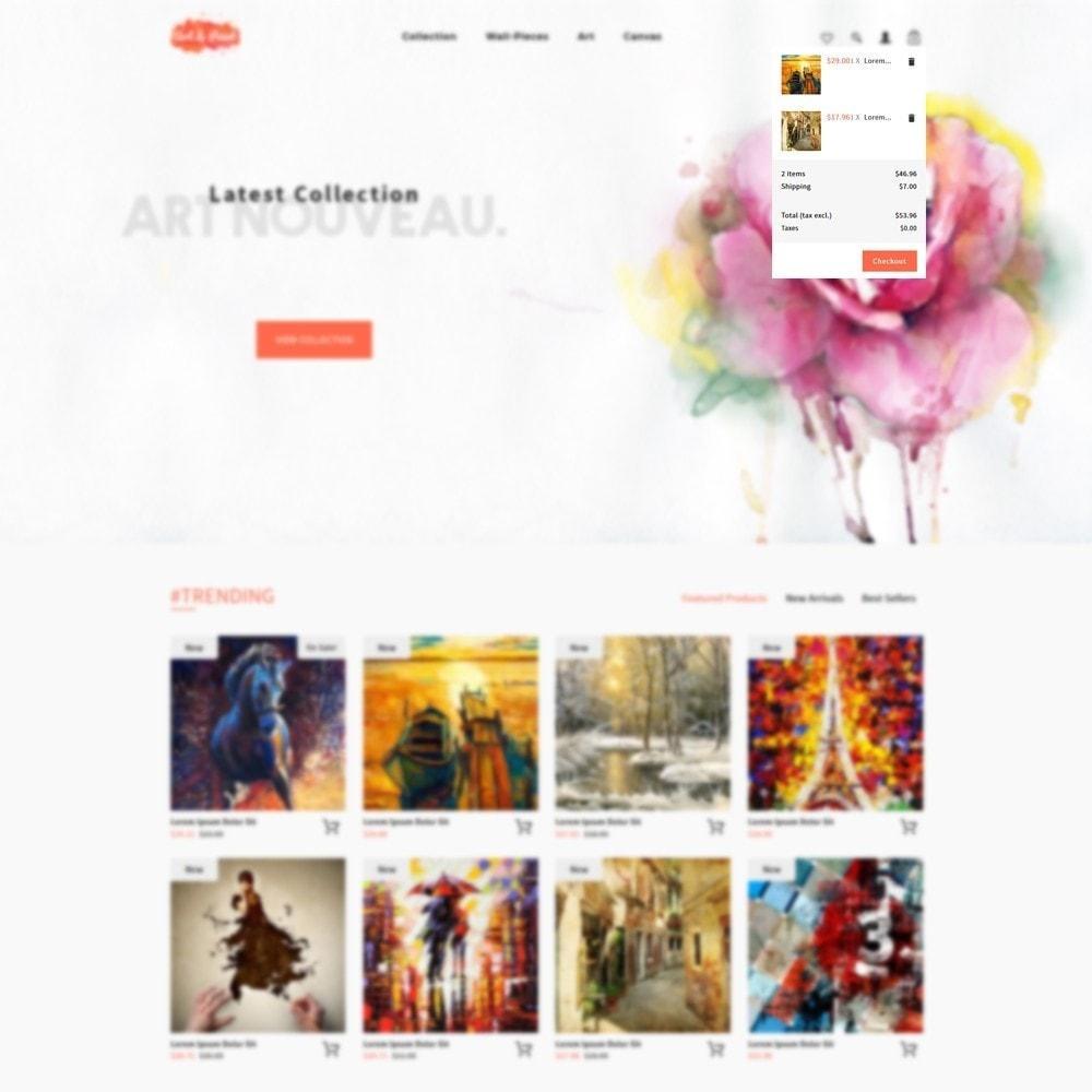 theme - Arte e Cultura - Art and Paint - 8