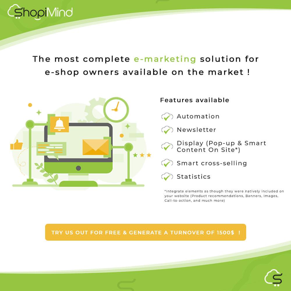 module - Remarketing & Warenkorbabbrüche - ShopiMind - Smart marketing multichanel - 1
