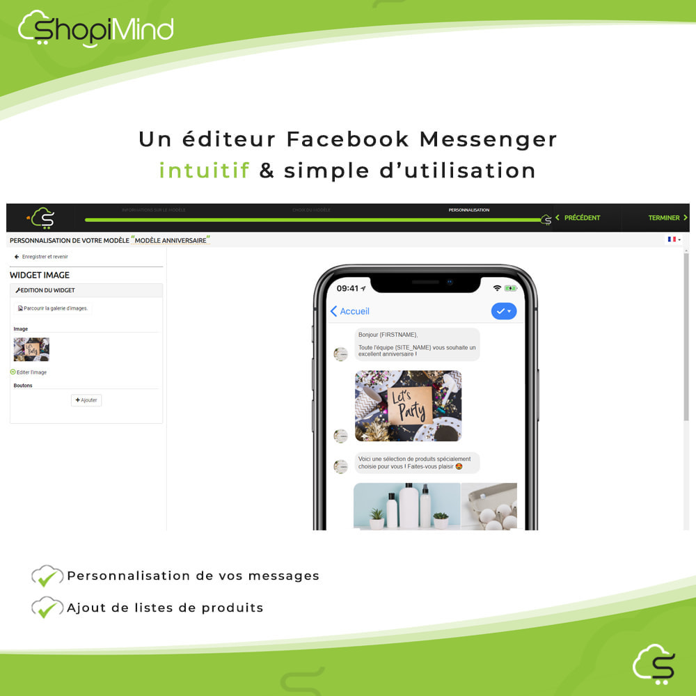 module - Remarketing & Paniers Abandonnés - ShopiMind - Marketing multicanal intelligent - 9