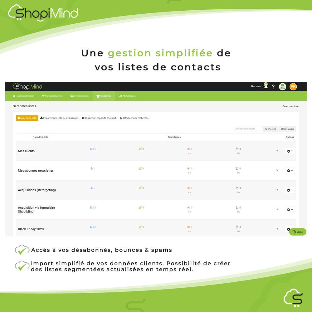 module - Remarketing & Paniers Abandonnés - ShopiMind - Marketing multicanal intelligent - 12