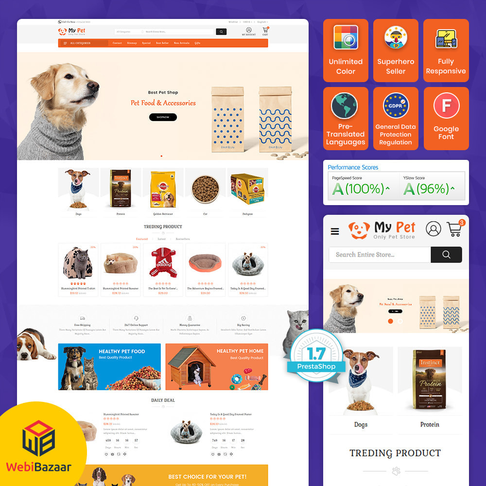 theme - Zwierzęta - My Cute Pet  Store - Specials Pet Store - 1