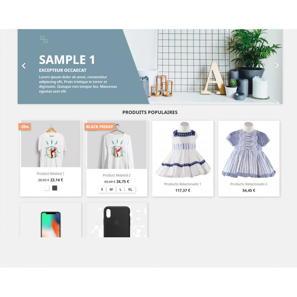 module - Ventes Flash & Ventes Privées - Show tag/label for special products by Categories - 1
