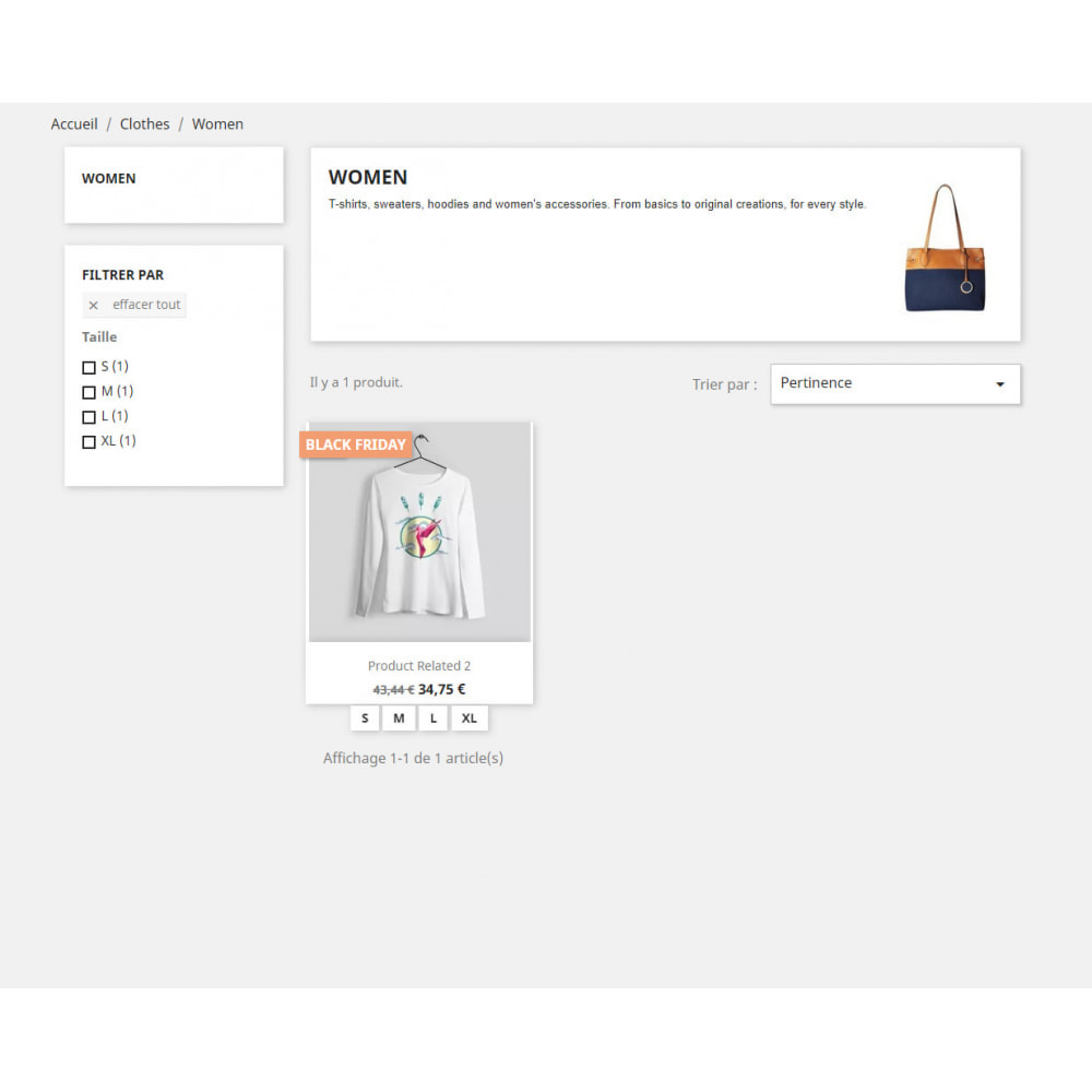 module - Ventes Flash & Ventes Privées - Show tag/label for special products by Categories - 3
