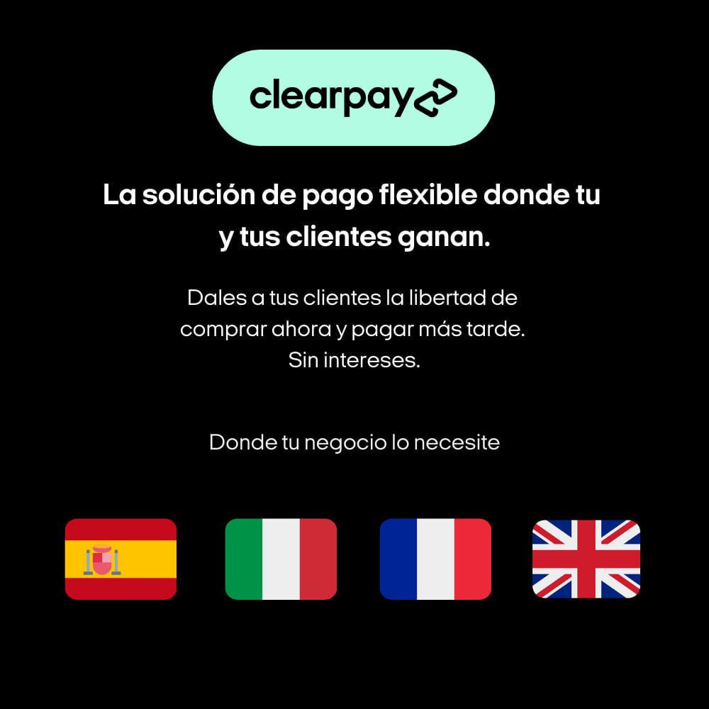 module - Pagos - Clearpay - Compra ahora, Paga más tarde, Sin intereses - 3