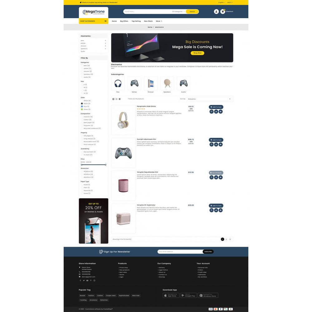 theme - Elektronika & High Tech - Mega Trone - Multi Purpose Shop - 15