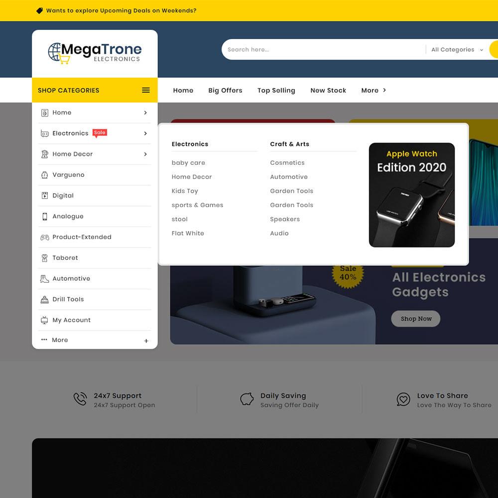 theme - Elektronika & High Tech - Mega Trone - Multi Purpose Shop - 21