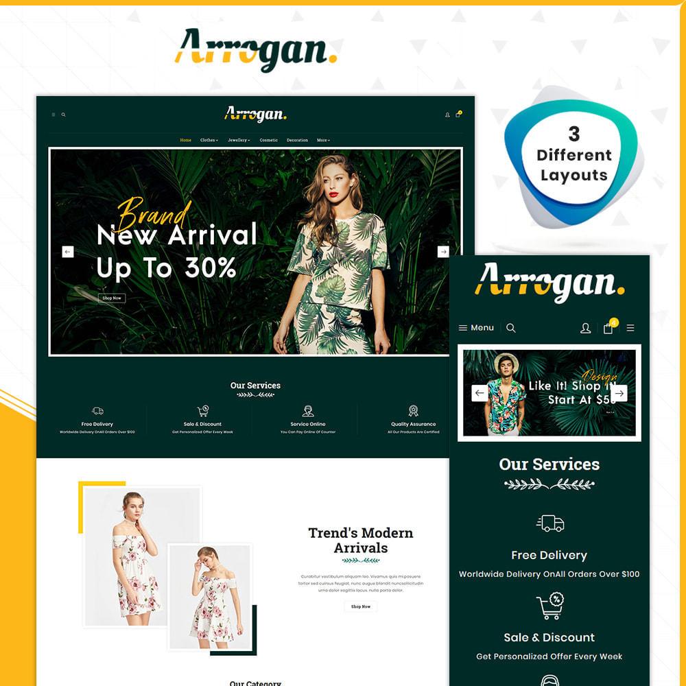 theme - Moda & Obuwie - Digital Fashion–Arrogan Store - 1