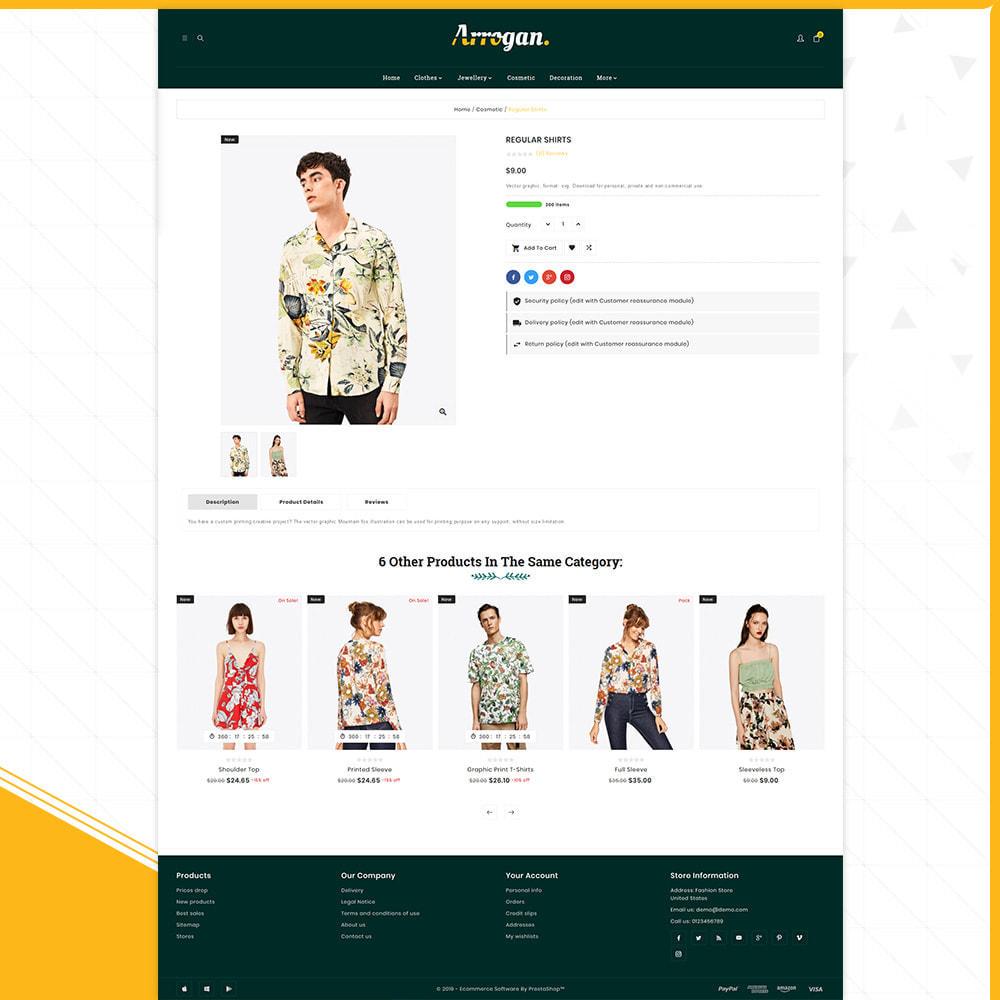 theme - Moda & Obuwie - Digital Fashion–Arrogan Store - 4