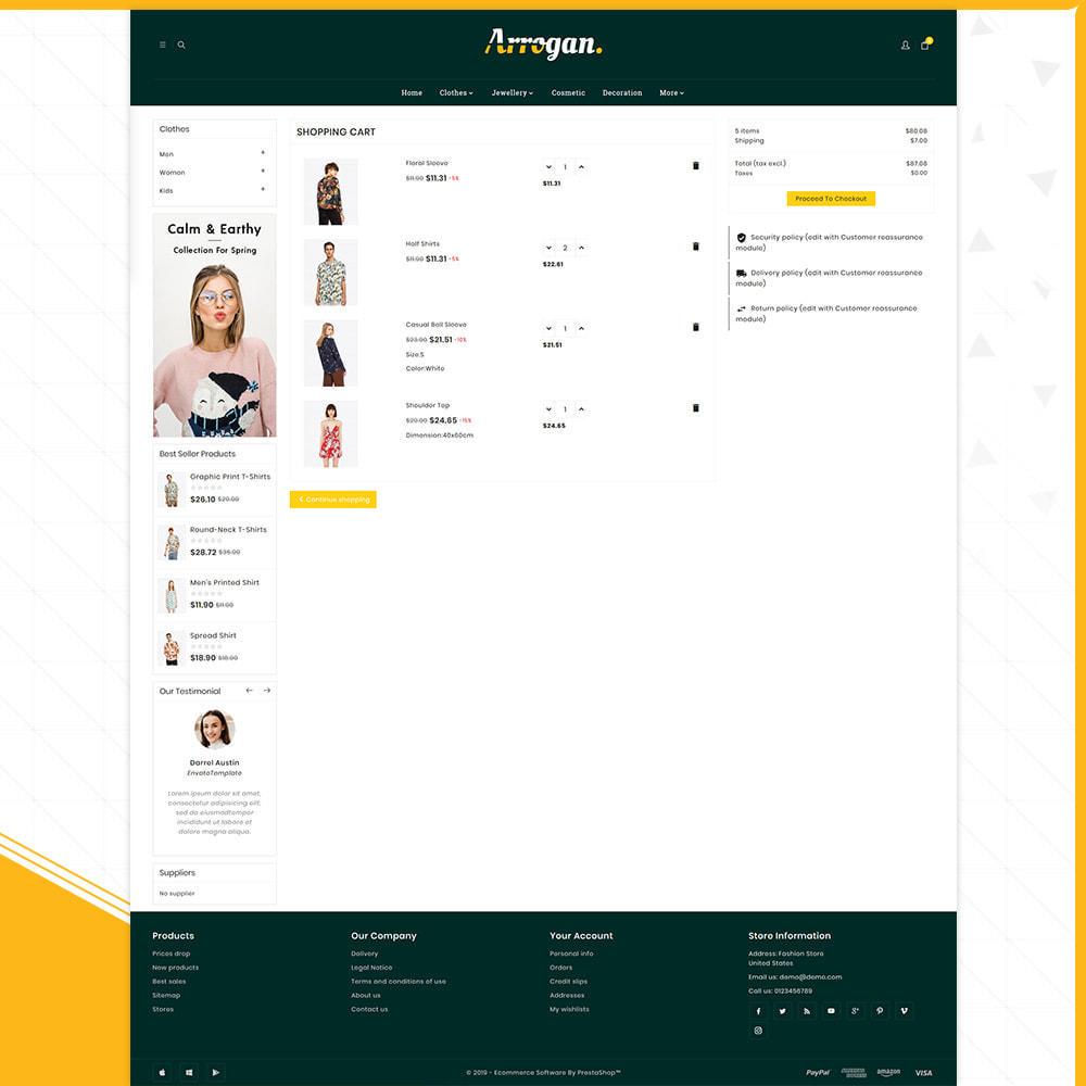 theme - Moda & Obuwie - Digital Fashion–Arrogan Store - 5