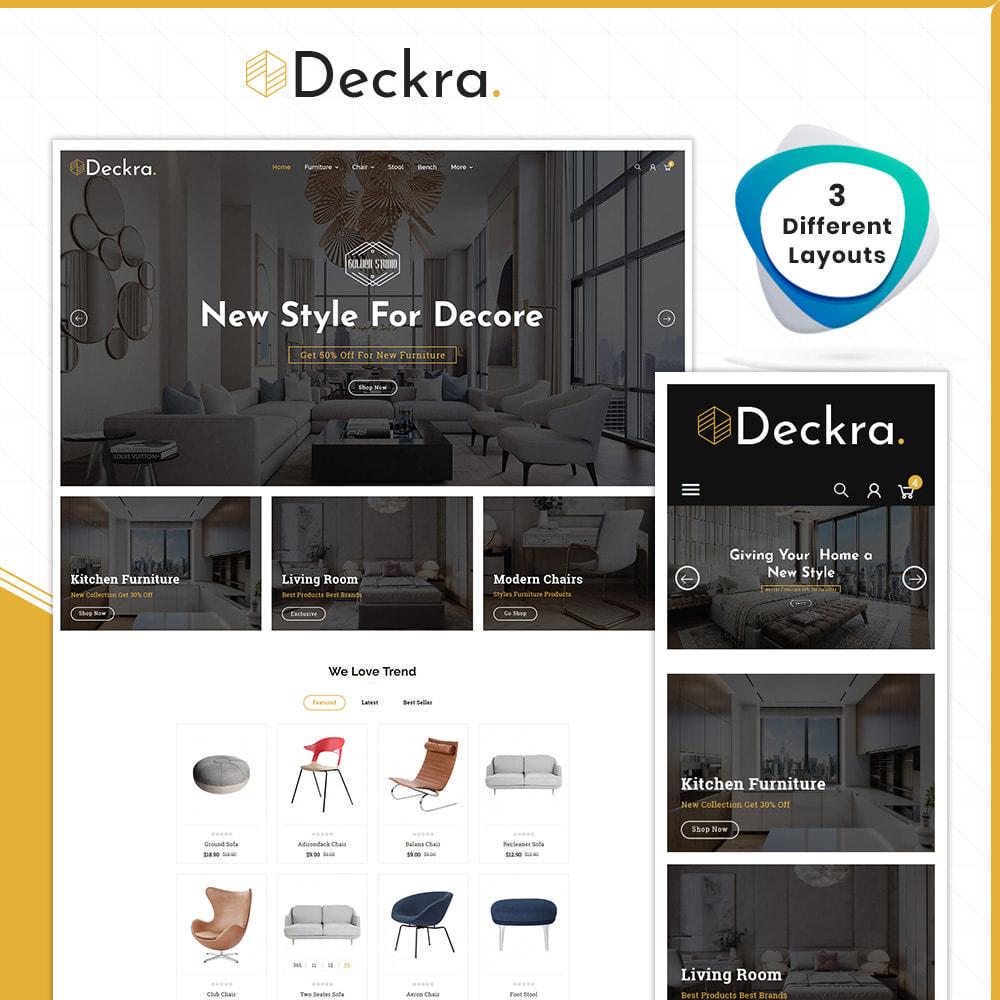 theme - Dom & Ogród - Digital Furniture–Deckra Home Store - 1