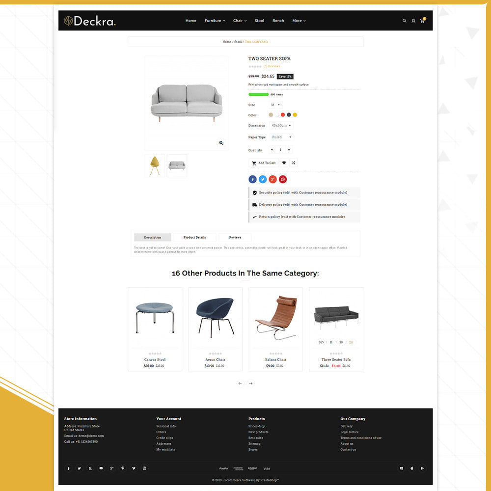 theme - Dom & Ogród - Digital Furniture–Deckra Home Store - 4