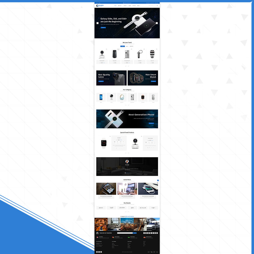 theme - Elektronika & High Tech - Electrónica–Celkon Electronic Store - 2