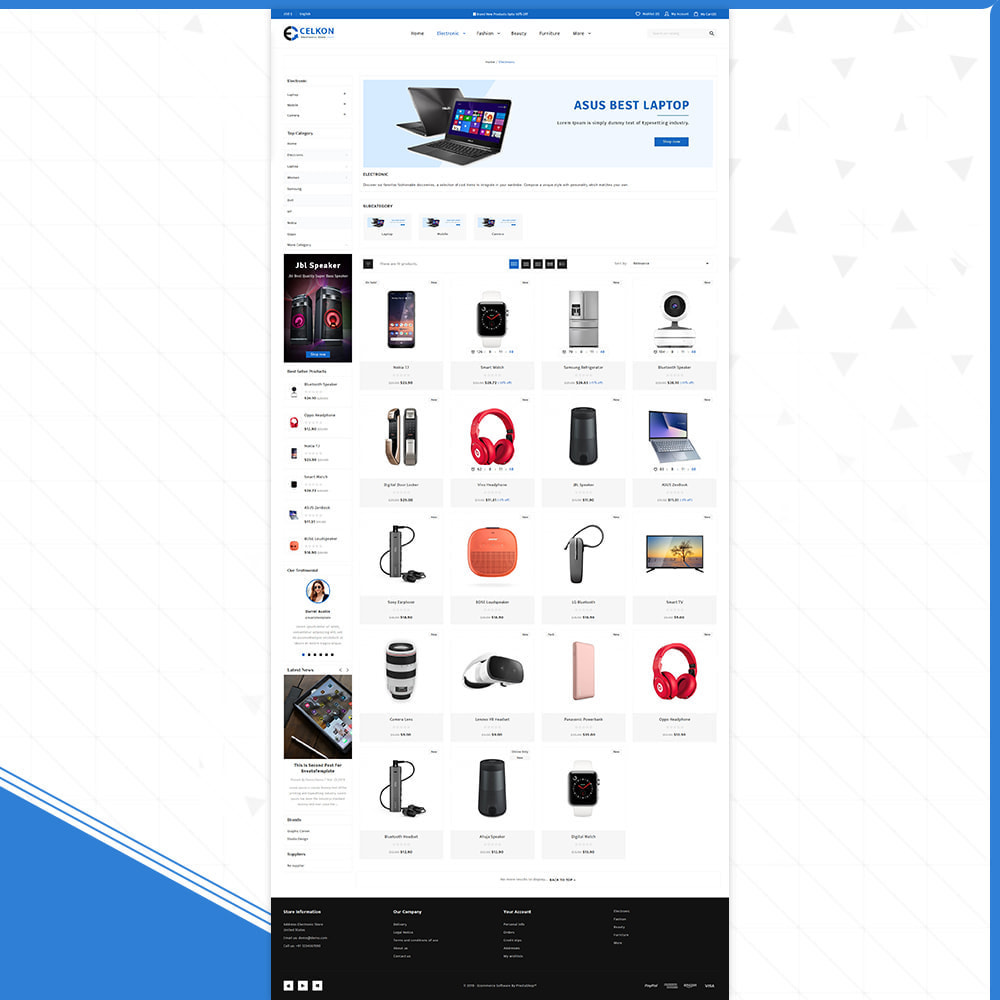 theme - Elektronika & High Tech - Electrónica–Celkon Electronic Store - 3