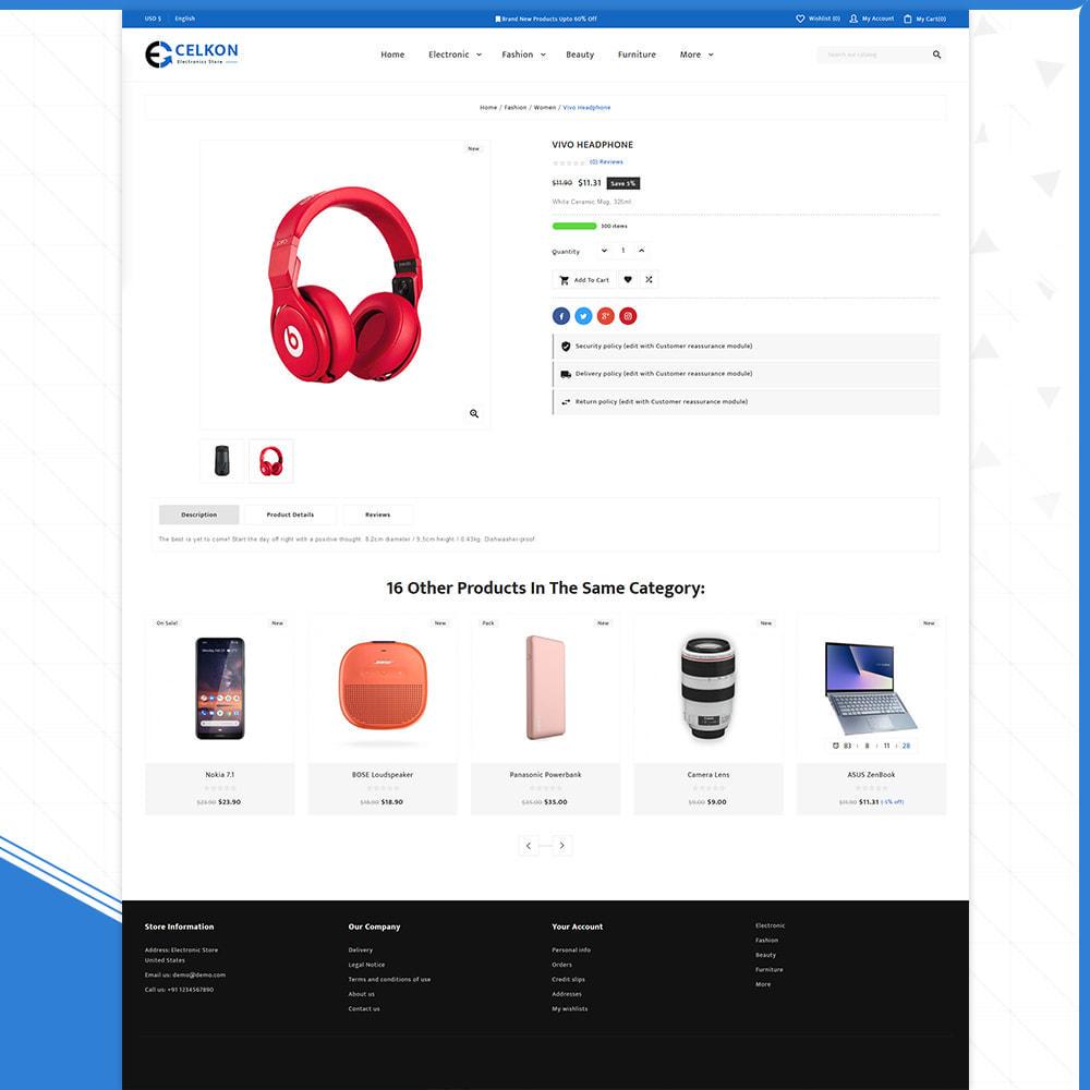 theme - Elektronika & High Tech - Electrónica–Celkon Electronic Store - 4