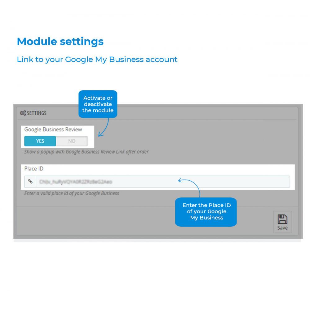 module - Customer Reviews - Easy get Google My Business Reviews - 5