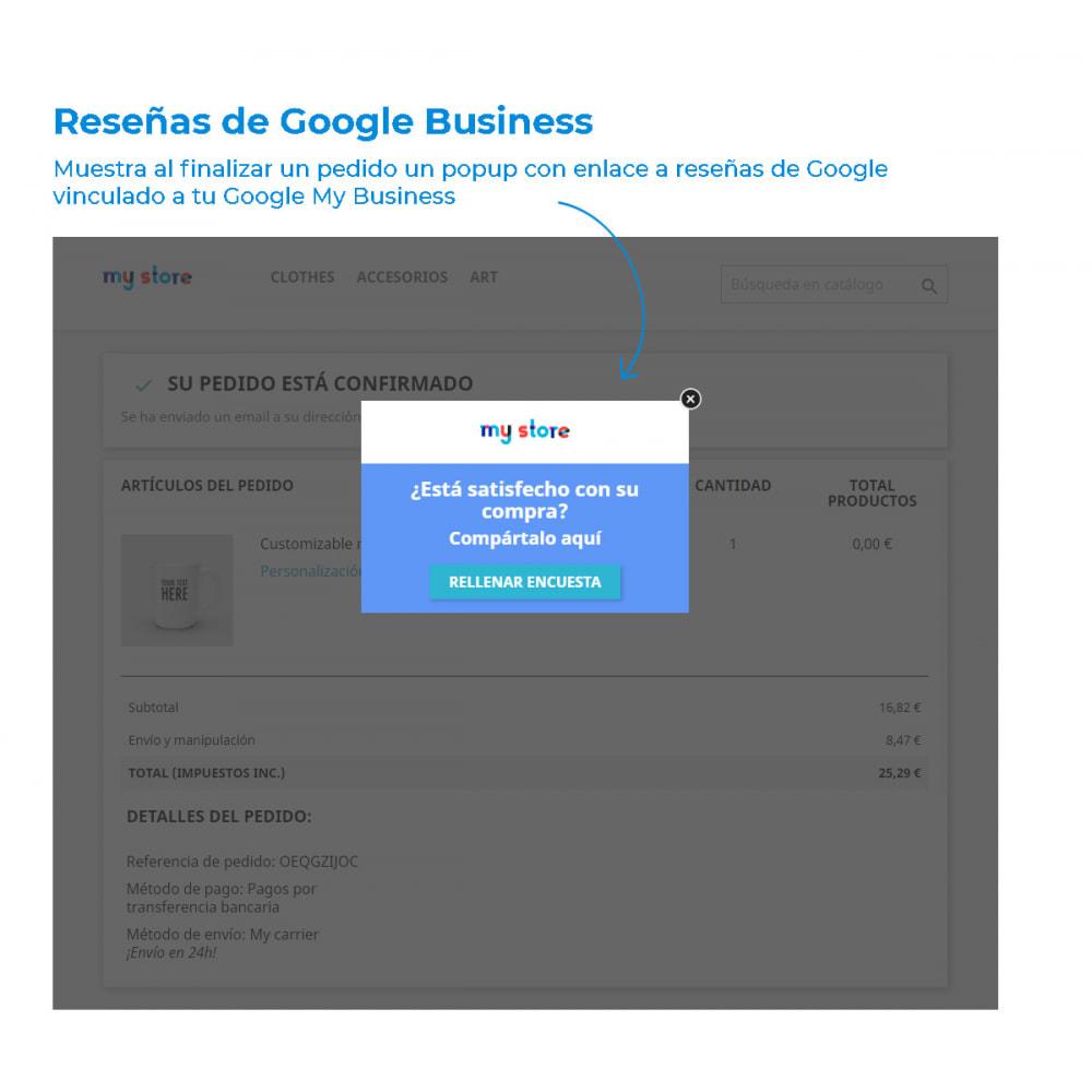 module - Comentarios de clientes - Obtén valoraciones y reseñas en Google - 2